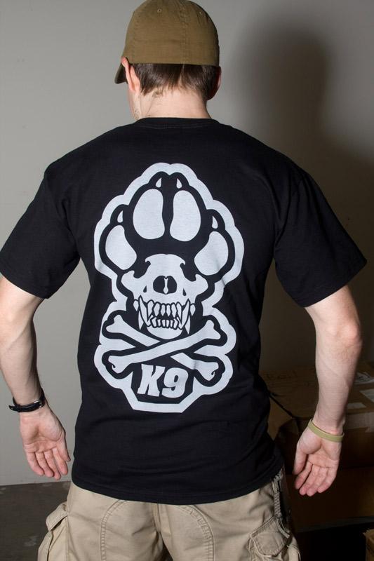 Mil Spec Monkey K9 T Shirt Black Tactical Kit